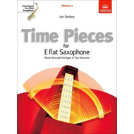 Time Pieces for E flat Saxophone, Volume 1 (BOK)