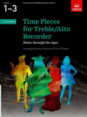 Time Pieces for Treble/Alto Recorder, Volume 1 (BOK)
