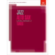 Jazz Alto Sax Level/Grade 2 Tunes/Part & Score & CD (BOK)