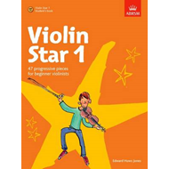 Violin Star 1, Student's book, with CD (BOK)