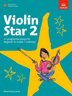 Violin Star 2, Student's Book, with CD (BOK)