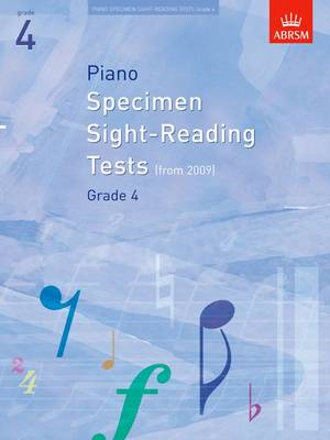 Piano Specimen Sight-Reading Tests, Grade 4 (BOK)