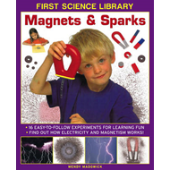 First Science Library: Magnets & Sparks (BOK)