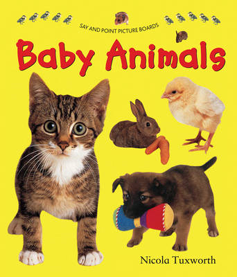 Say and Point Picture Boards: Baby Animals (BOK)