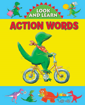 Look and Learn with Little Dino: Action Words (BOK)