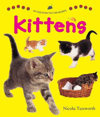 Say and Point Picture Boards: Kittens (BOK)
