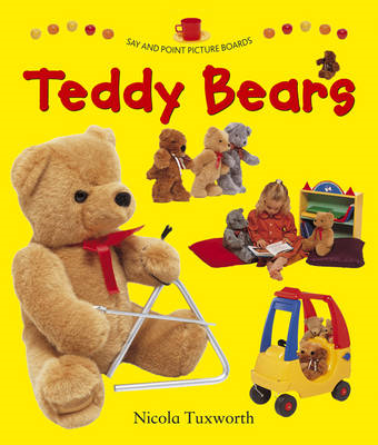 Say and Point Picture Boards: Teddy Bears (BOK)
