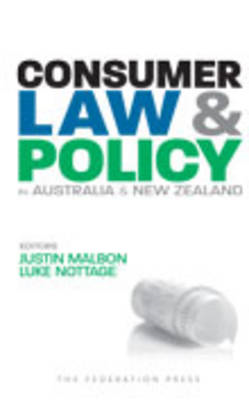 Consumer Law and Policy in Australia and New Zealand (BOK)