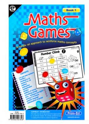 Maths Games Lower: A Hands-on Approach to Reinforce Maths Concepts (BOK)