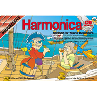 Progressive Harmonica Method For Young Beginners (BOK)