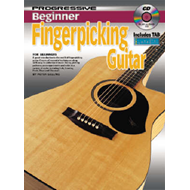 Progressive Beginner Fingerpicking Guitar (BOK)