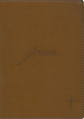 Brown with Cross Journal (BOK)
