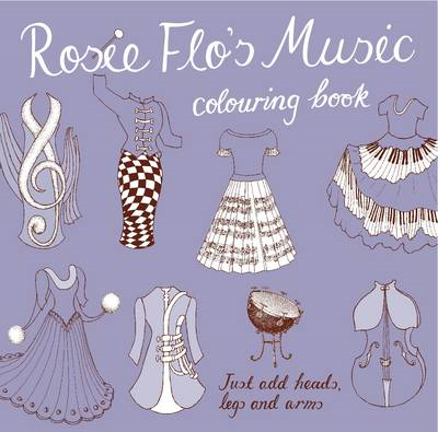 Rosie Flo's Music Colouring Book (BOK)