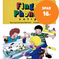 Produktbilde for Finger Phonics book 1 - in Precursive Letters (British English edition) (BOK)