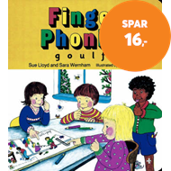 Produktbilde for Finger Phonics book 3 - in Precursive Letters (British English edition) (BOK)