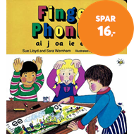 Produktbilde for Finger Phonics book 4 - in Precursive Letters (British English edition) (BOK)
