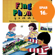 Produktbilde for Finger Phonics book 6 - in Precursive Letters (British English edition) (BOK)