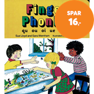 Produktbilde for Finger Phonics book 7 - in Precursive Letters (British English edition) (BOK)