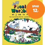 Produktbilde for Jolly Phonics Workbook 4 (BOK)
