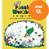 Produktbilde for Jolly Phonics Workbook 5 - in Precursive Letters (British English edition) (BOK)