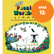 Produktbilde for Jolly Phonics Workbook 6 - in Precursive Letters (British English edition) (BOK)