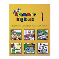 Produktbilde for Grammar Big Book 1 - In Precursive Letters (BOK)