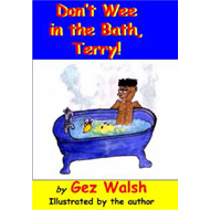 Don't Wee in the Bath Terry (BOK)