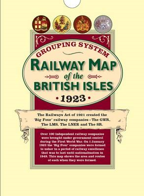 Railway Grouping System Map of the British Isles 1923 (Folded in a Wallet): Big Four Railway Compani (BOK)