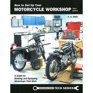 How to Set Up Your Motorcycle Workshop (BOK)