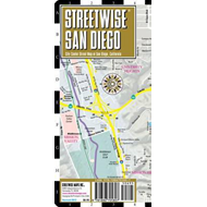 Streetwise San Diego Map - Laminated City Street Map of San (BOK)
