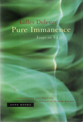 Pure Immanence (BOK)