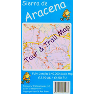 Sierra de Aracena Tour and Trail Map (BOK)