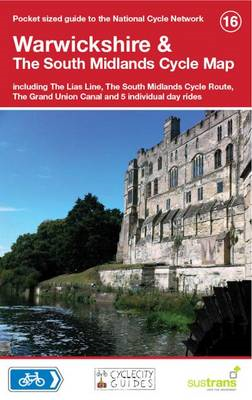 Warwickshire & The South Midlands Cycle Map (BOK)