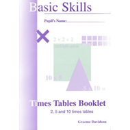 Times Tables Booklets: Bk. 1 (BOK)