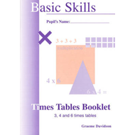 Times Tables Booklets: Bk. 2 (BOK)