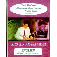English (Standard Format): The A Plus Series of Secondary School Entrance 11+ Practice Papers: with (BOK)