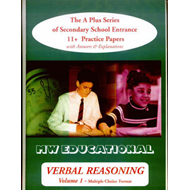 Verbal Reasoning: The A Plus Series of Secondary School Entrance 11+ Practice Papers: v.1: Multiple (BOK)