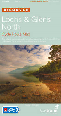 Lochs and Glens North - Sustrans Cycle Route Map (BOK)