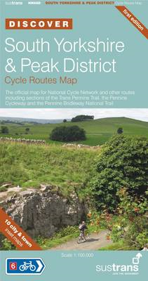 South Yorkshire & Peak District Cycle Routes Map (BOK)