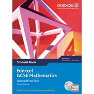 Edexcel GCSE Maths 2006: Linear Foundation Student Book and (BOK)