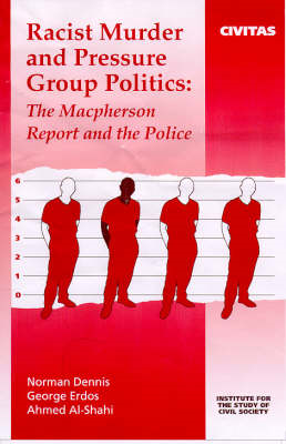 Racist Murder and Pressure Group Politics (BOK)