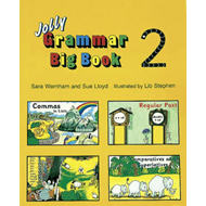 Produktbilde for Grammar Big Book 2 - In Precursive Letters (BOK)