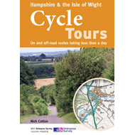 Hampshire & the Isle of Wight Cycle Tours: On and Off-road Routes Taking Less Than a Day (BOK)