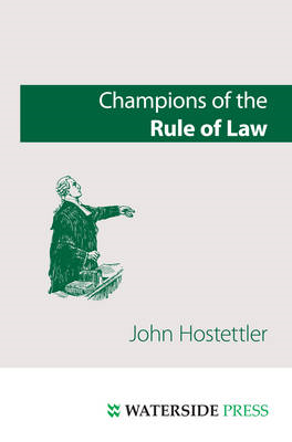 Champions of the Rule of Law (BOK)