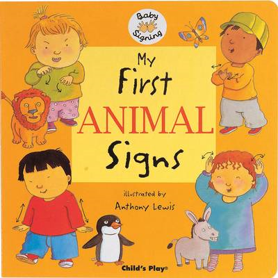 My First Animal Signs (BOK)