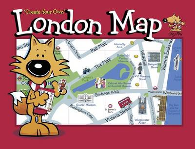 Guy Fox 'Create Your Own' London Map (BOK)