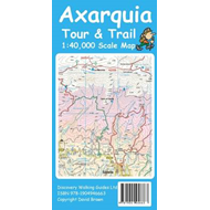 Axarquia (Costa Del Sol) Tour & Trail Map (BOK)