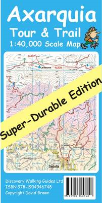 Axarquia Tour & Trail Map Super-durable Edition (BOK)