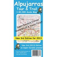 Alpujarras Tour & Trail Super-Durable Map (BOK)