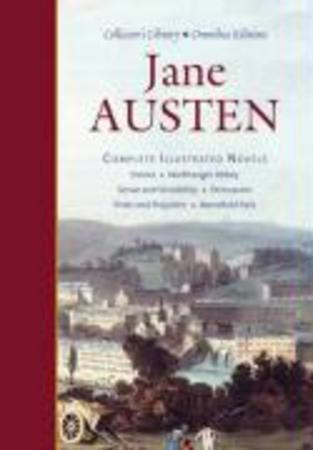 "Jane Austen: Complete Illustrated Novels: ""Emma"", ""Northanger Abbey"", ""Sense and Sensibility"", ""Pers (BOK)"